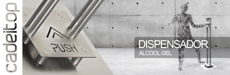 Dispensador Álcool Gel | Pedal